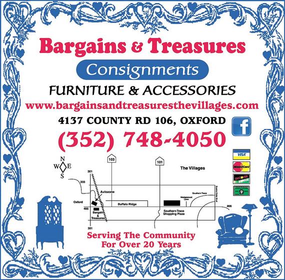 Bargains Amp Treasures In The Villages Fl