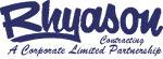 Rhyason Contracting Ltd on COSSD