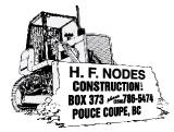 H F Nodes Construction Ltd on COSSD